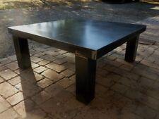 Table basse design industriel sur mesure loft tendance vintage meuble industriel