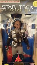 "On Sale Now through Christmas!! Star Trek TNG 9"" Lt. Worf in Ritual Attire"
