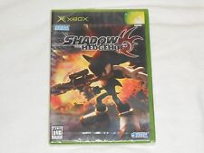 NEW Shadow the Hedgehog XBox JAPAN Game SEALED Sega sonic - JAPANESE VERSION