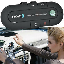 Speakerphone Speaker Phone Visor Clip Hands Free Wireless Bluetooth Car Kit HOT