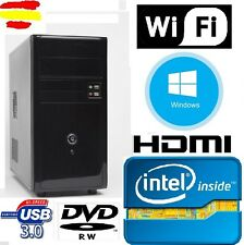 Computer Fisso PC Intel 16GB RAM  HDMI  2gb, USB 3.0, wifi, WINDOWS
