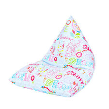 Hello There Large Children's Kids Pyramid Bean Bag Chair Gaming Beanbag Gamer