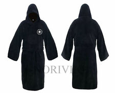 Adult Bathrobe Cosplay Star Wars Jedi Sith Hooded Robe Cloak Skywalker Gown