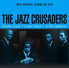 The Jazz Crusaders THREE ORIGINAL ALBUMS Freedom / Lookin' / Lighthouse NEW 3 CD