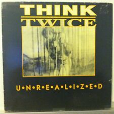 THINK TWICE Unrealized LP  SXE Crucial Response Records GERMANY VG++