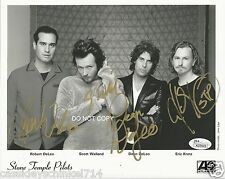 Scott Weiland and Stone Temple Pilots reprint signed early promo photo #3 RP