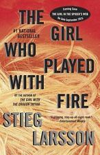 Millennium: The Girl Who Played with Fire by Stieg Larsson (2010, Paperback)
