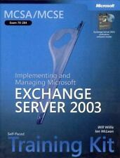 MCSAMCSE Self-Paced Training Kit (Exam 70-284): Implementing and Managing Micros