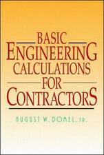 Basic Engineering Calculations for Contractors-ExLibrary
