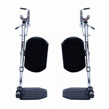 Invacare T94HE Wheelchair Elevating Foot Leg Calf Rest Pad, Without Heel Loops