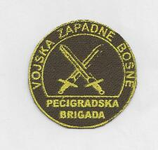 WESTERN  BOSNIA ARMY -  BRIGADE OF PEĆIGRAD ,  PEĆIGRADSKA BRIGADA - cap patch