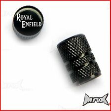 ROYAL ENFIELD Set Of 2 Lasered Logo Wheel Tyre Valve Caps