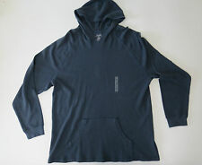 Shirt XL RoundTree & Yorke Performance Cotton Men's Waffle Knit Hooded Pullover