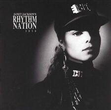 Rhythm Nation 1814 by Janet Jackson (CD, Sep-1989) Disc Only! Free Shipping!