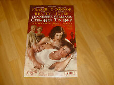 CAT on a HOT TIN ROOF  feat  Ned Beatty  LYRIC Theatre Original Poster