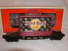 Lionel 6-26308 Hard Rock Cafe Flatcar with Billboards O 027 MIB Flat Car