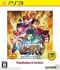 Used PS3 Ultra Street Fighter IV CAPCOM SONY PLAYSTATION 3 JAPAN JAPANESE IMPORT