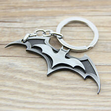 1pc Batman Keychain Silver Metal Super Heroes Marvel Key Chain Gift Toys Pendant