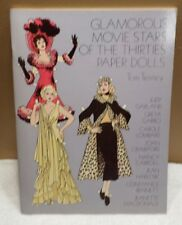 GLAMOROUS MOVIE STARTS OF THE THIRTIES PAPER DOLLS TOM TIERNEY 1978 UNCUT NICE