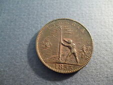 1833 Liberia 1 cent coin