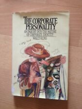 WALLY OLINS, THE CORPORATE PERSONALITY. HARDCOVER W/JACKET. 0831717807