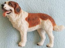 Schleich ST BERNARD Male Dog Animal Figure Toy - With Crossed Eyes - Adorable