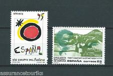 ESPAGNE - 1990 YT 2702 à 2703 - TIMBRES NEUFS** LUXE