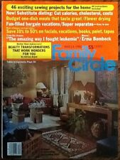Family Circle vintage May 1980 fashion recipes Erma Bombeck Strawberry Shortcake
