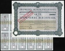 1925 Beierfeld in Sachsen: Frankonia Aktiengesellschaft