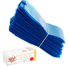 500 X Disposable Plastic Tattoo Machine Barrier Grip Sleeve Cover Case Bag Blue