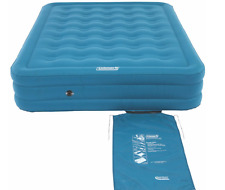 Air Mattress Pump Bed Queen Sleeping Size Camping Inflatable Built Coleman