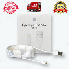 100% OEM 2M Lightning USB Cable 6FT Apple iPhone 6s Plus 6 Data Sync Charger Box