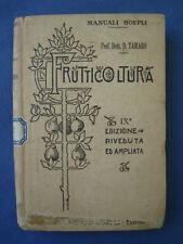 MANUALE-TAMARO-FRUTTICOLTURA-156 ILLUSTRAZIONI-HOEPLI 1928-RARO