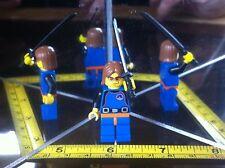 LEGO Mini figura Kill Bill FEMMINA SPADA FIGHTER ORIGINALE DA COLLEZIONE LEGO Uomo