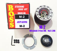 BOSS KIT STEERING WHEEL HUB ADAPTER MITSUBISHI L200 TRITON ME MJ 86-94 PICKUP