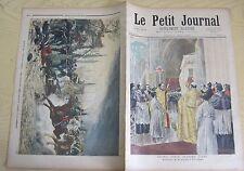Le petit journal 1894 181 Bannière Jeanne d'Arc + les dragons à gravelotte