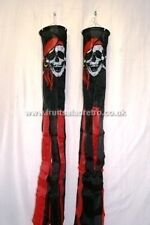 "Pirates Red Head Scarf 60"" Windsock Festival Camping Fete Glamping Beach bn"