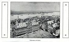 Antwerpen mit Hafen * Bilddokument 1915