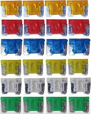24 TINY MICRO ASSORTED MINI BLADE FUSE FUSES CAR AUTO TRUCK SUV  LOW PROFILE APS
