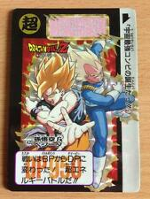 Carte Dragon Ball Z DBZ Carddass Hondan Part 11 #420 Prisme 1992 MADE IN JAPAN
