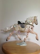 BREYER #700108 SR GOFFERT MOLD CHRISTMAS HORSE NOELLE ROSE GREY WITH DECORATIONS
