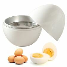 MICROWAVE SOFT MEDIUM HARD 4 EGG BOILER COOKER CUP STEAMER