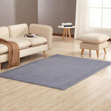 Soft Shower Floor Mat Absorbent Memory Foam Rug Non-slip Bath Bathroom Carpet
