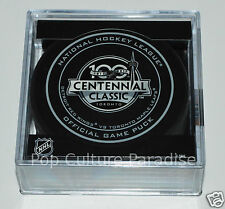 Toronto Maple Leafs Detroit Red Wings 2017 Centennial Classic OUTDOOR GAME PUCK