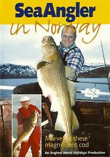 Fishing DVD -SEA ANGLER in NORWAY - Bob Nudd and Dave Lewis