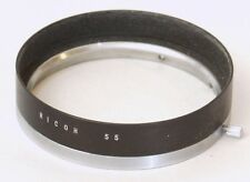 Ricoh Original 55mm Metal Lens Hood - Exterior Clamp Fit