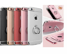 Luxury Ultra-thin Armor Back Case Cover with Ring Stand for IPhone 5/6/6Plus