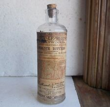 L.F.ATWOOD EMB & LABEL PHYSICAL JANNAICE BITTERS WYETH JERSEY CITY,NJ WITH CORK
