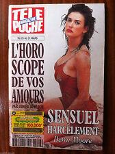 b)Télé Poche 25/3/1995; Demi Moore/ Stevie Wonder/ Edith Piaf/ Paul Emile Victor