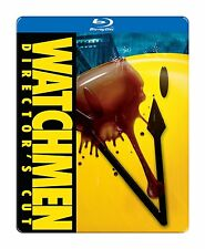 WATCHMEN (Director's Cut) Steelbook -    Blu Ray - Sealed Region free
